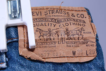 VINTAGE LEVI/LEVIS OG 517 BOOT CUT JEANS/PANTS sz 36x29